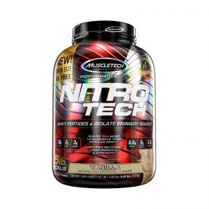 Muscletech Nitrotech Whey Isolate Vanilla 5lbs