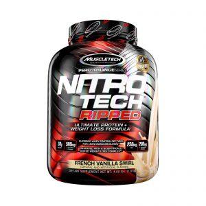 Muscletech Nitrotech Ripped French Vanilla Swirl