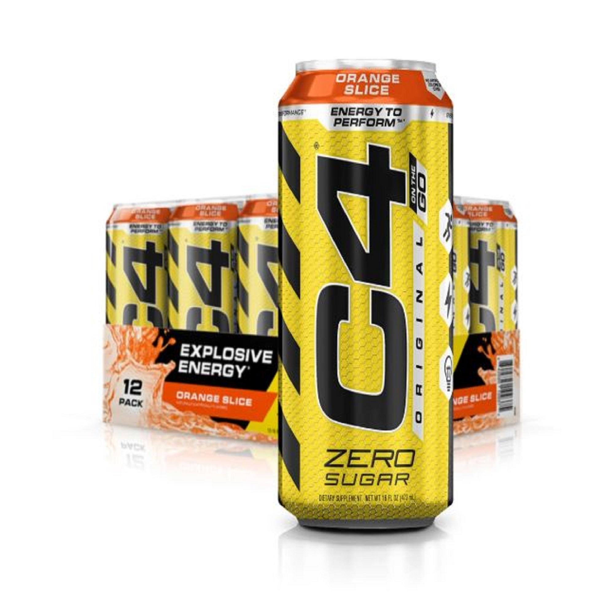 Cellucor C4 Original Carbonated Drinks Orange Slice