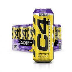 Cellucor C4 Original Carbonated Drinks Purple Frost