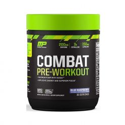 Musclepharm Combat Pre-Workout Blue Raspberry 30 Servings