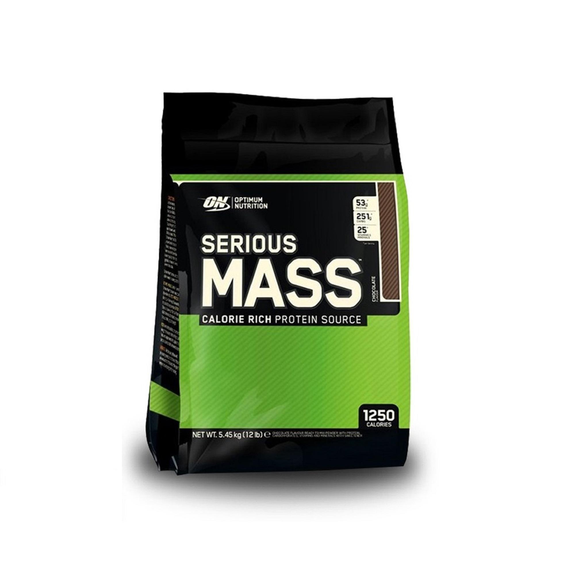 Optimum Nutrition Serious Mass Chocolate 12Lbs
