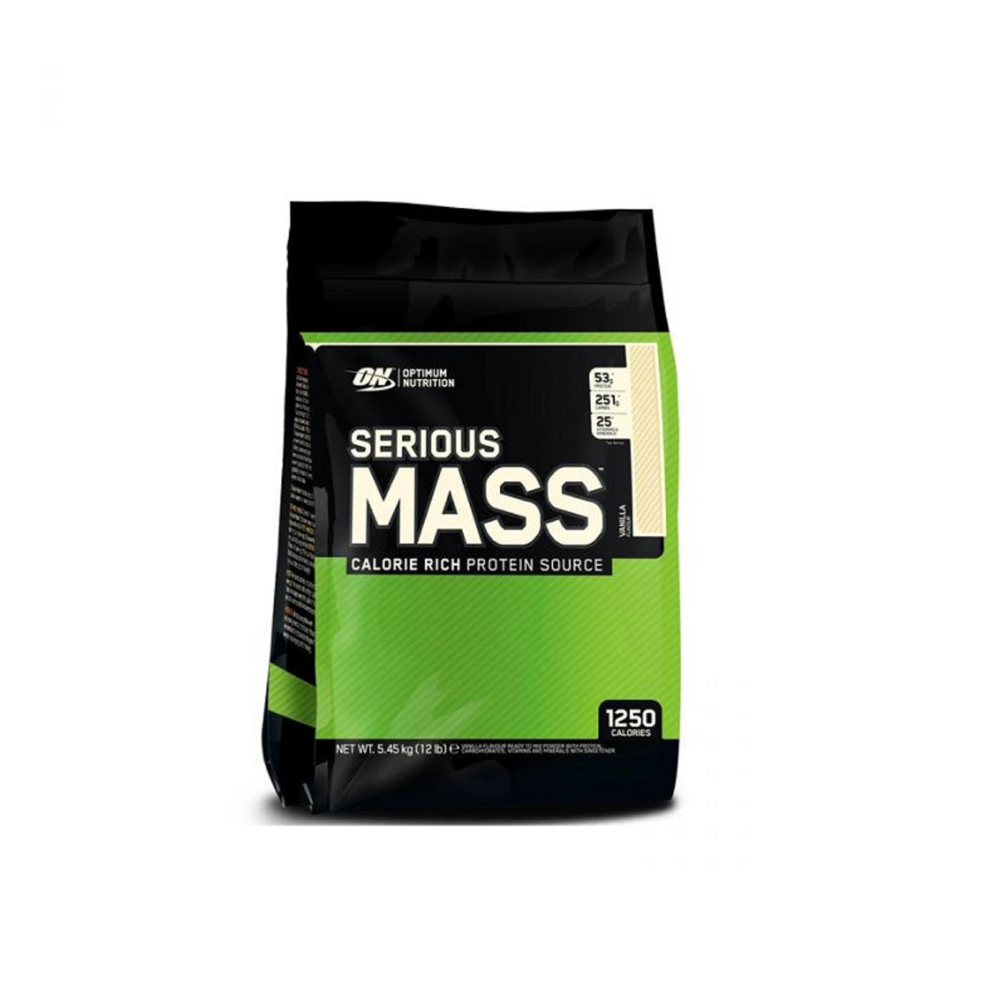 Optimum Nutrition Serious Mass Vanilla 12lbs