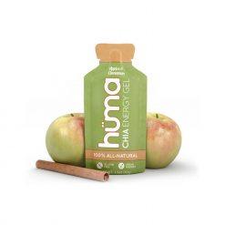 Hüma - Chia Energy Gel Apples and Cinnamon Caffeine Free 43g