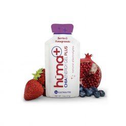 Hüma + Chia Energy Gel Plus Natural Electrolytes Berries & Pomegranate