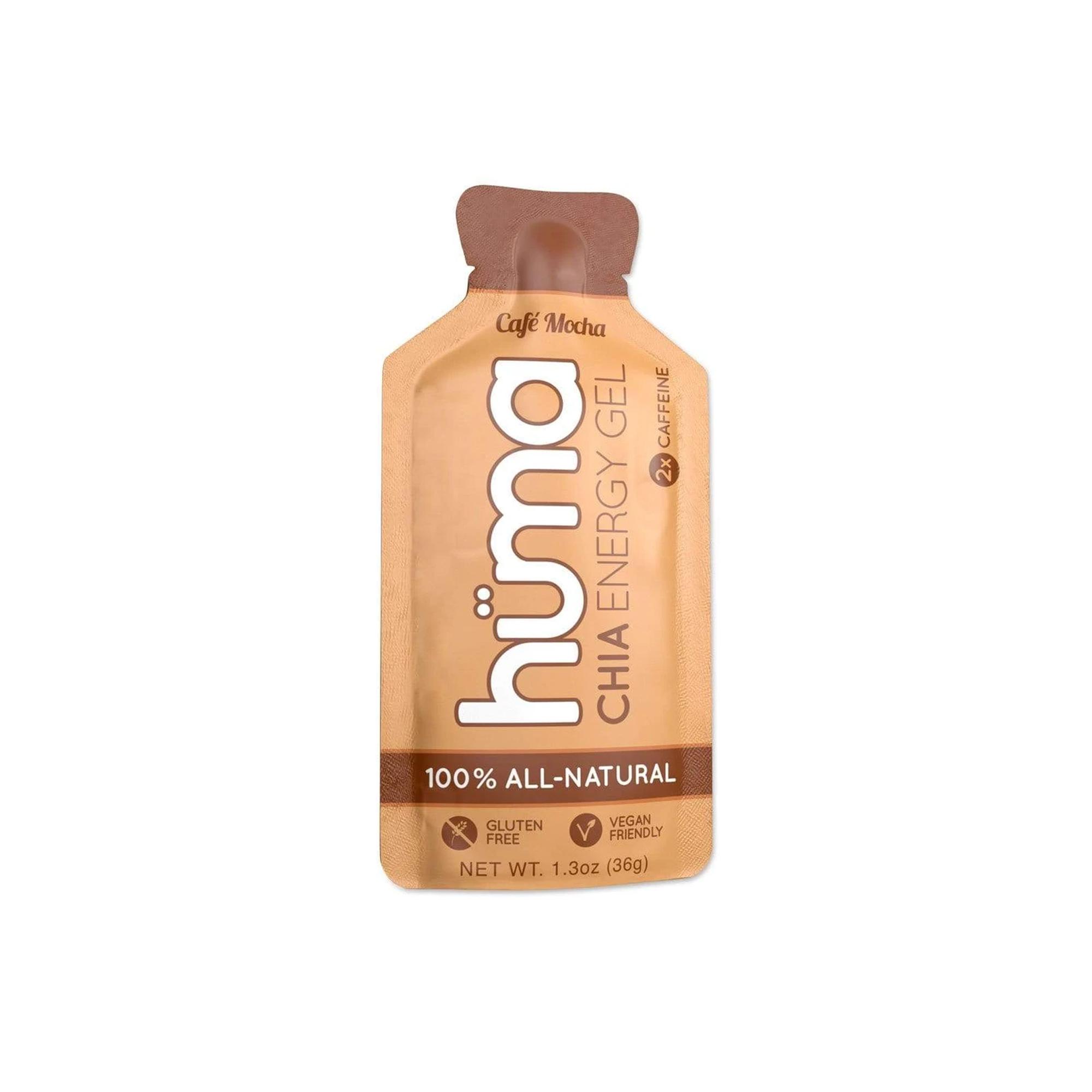 Hüma - Chia Energy Gel Cafe Mocha 2x Caffeine