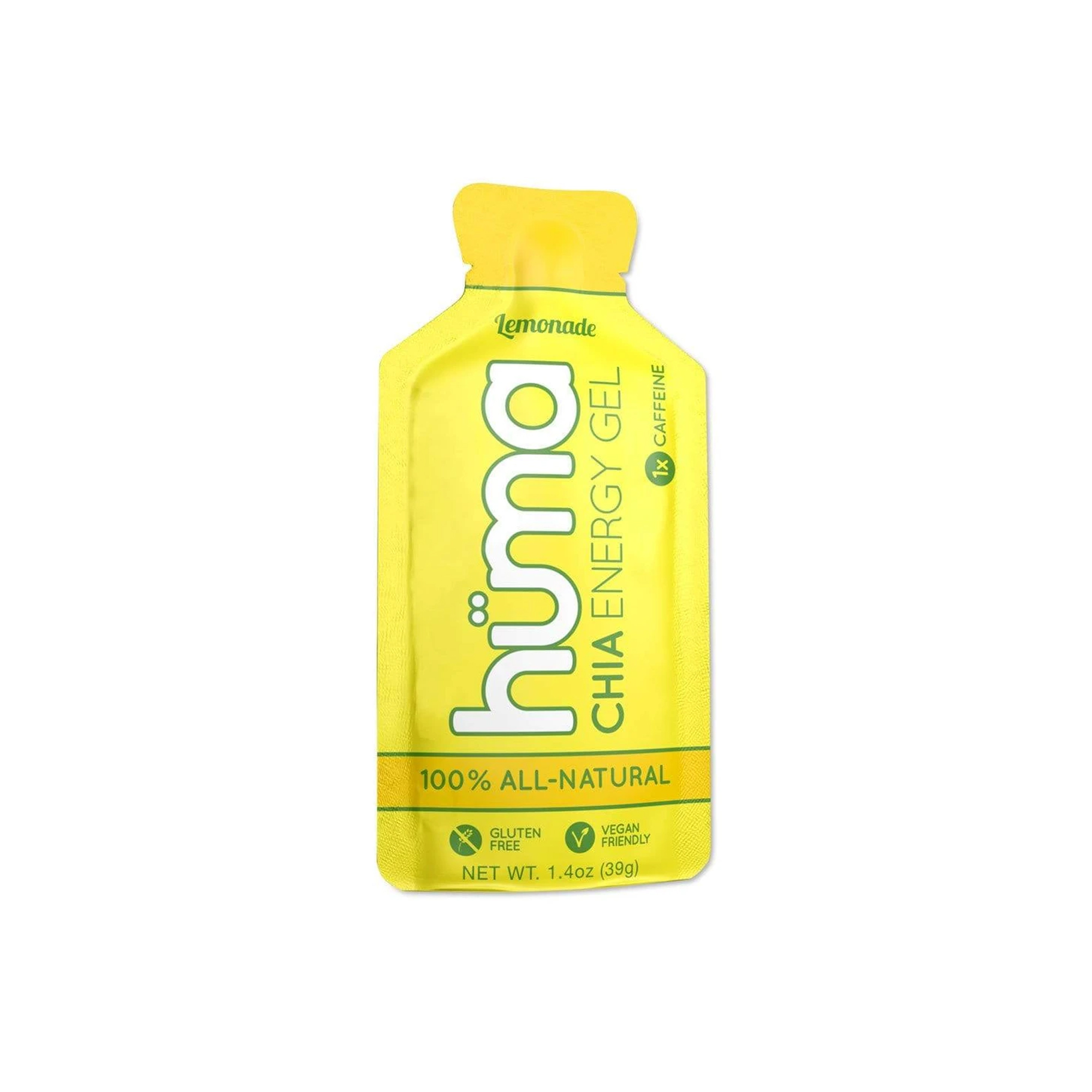 Hüma - Chia Energy Gel Lemonade 1x Caffeine