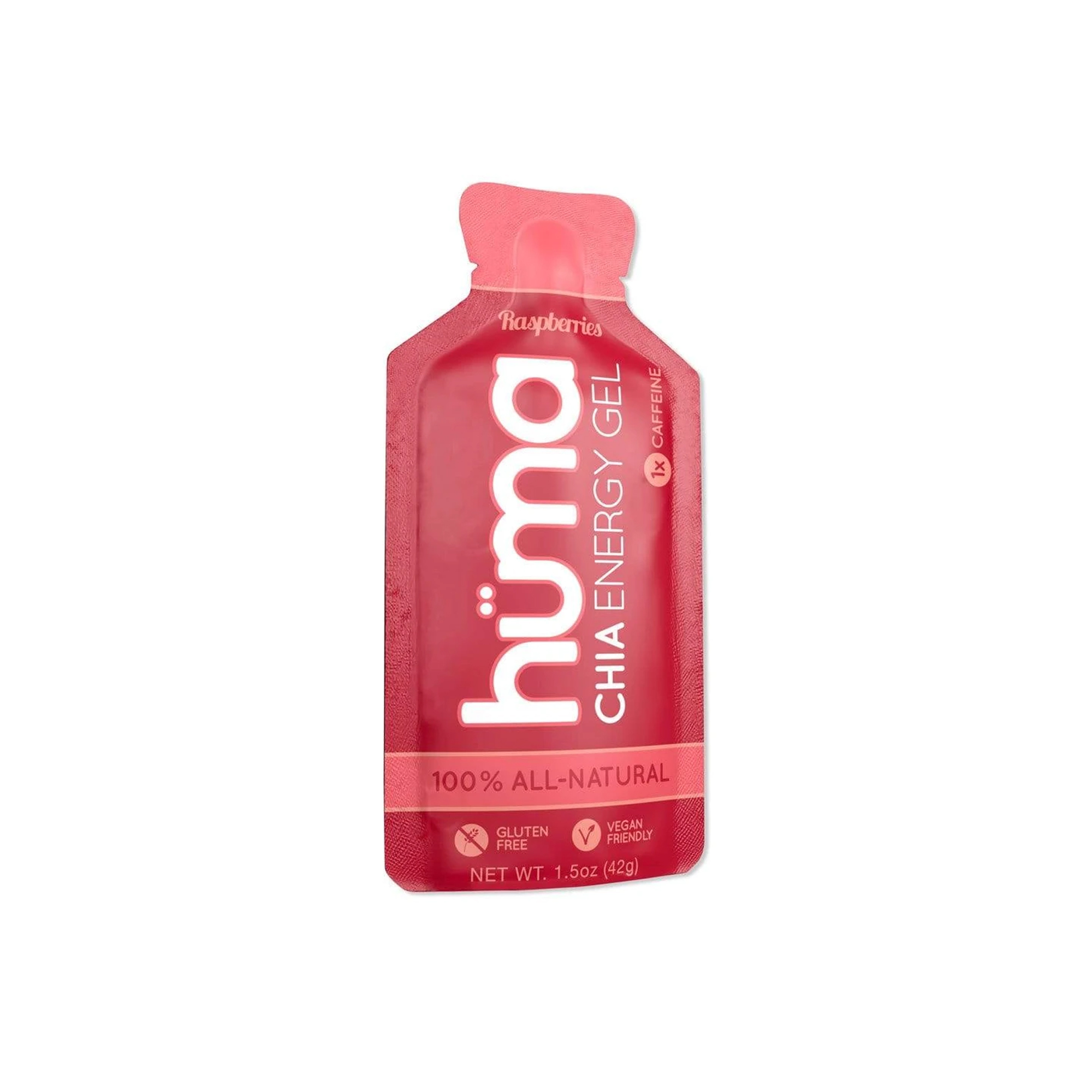 Hüma - Chia Energy Gel Raspberries 2x Caffeine
