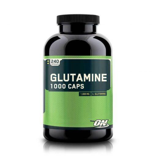 Optimum Nutrition Glutamine 1000 Caps 240 Capsules