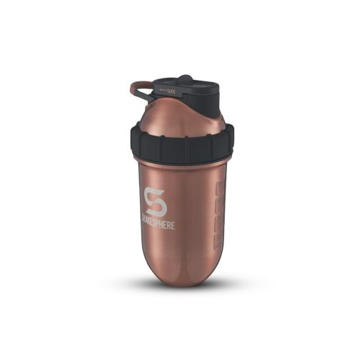 Shakesphere Double Wall Tumbler Steel Copper - Nutrition Depot Philippines