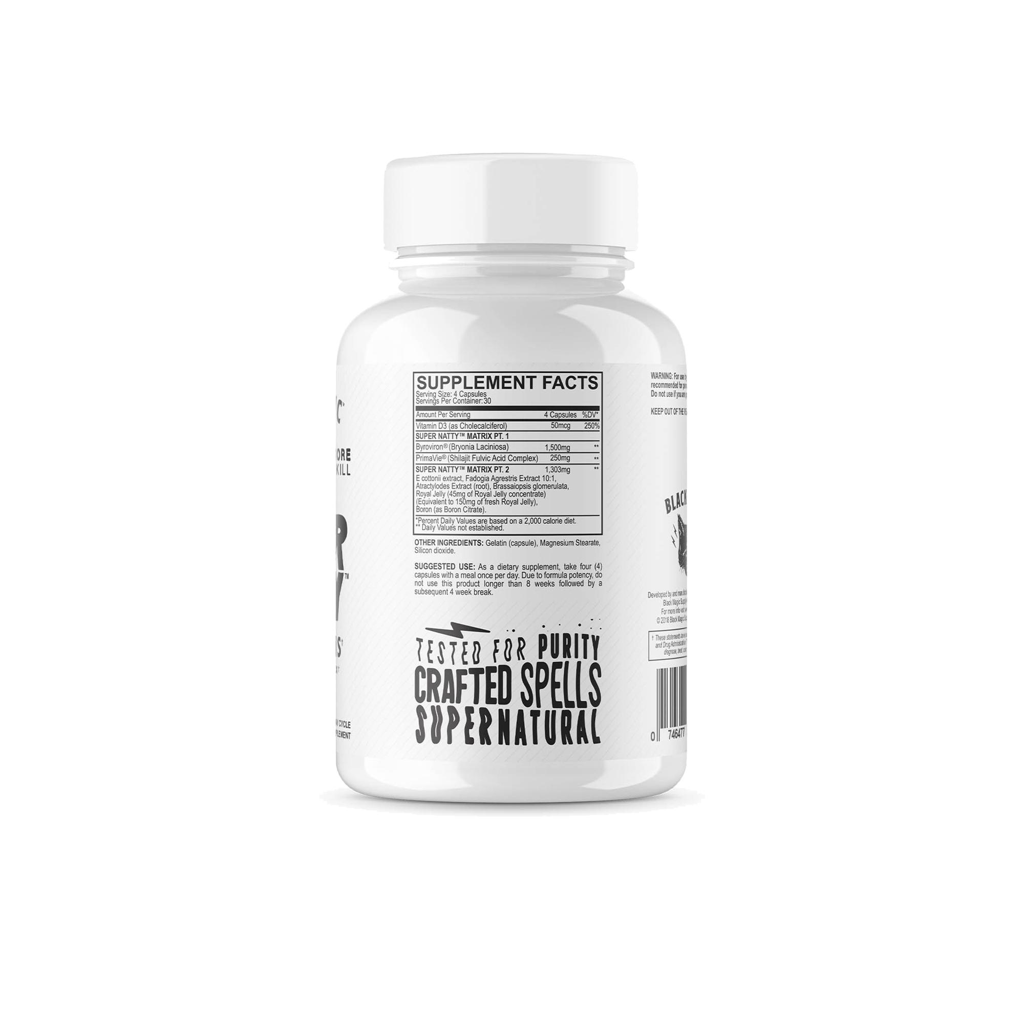 Black Magic - Super Natty Testosterone Matrix 30 Day Cycle - Nutrition Depot Philippines